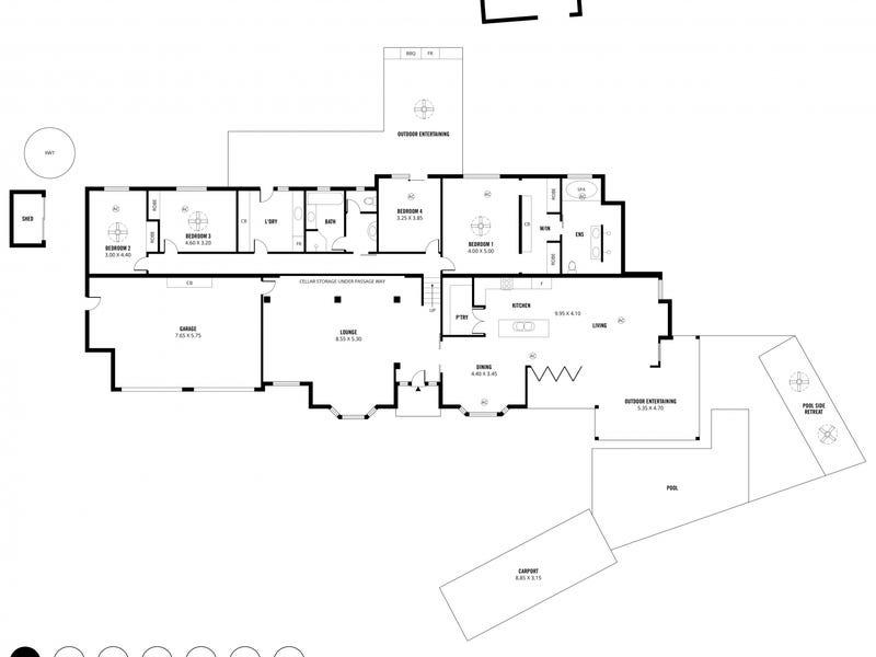 2 Shiraz Court, Craigburn Farm, SA 5051 - floorplan