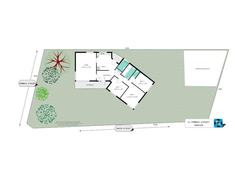 22 Finniss Street, Marion, SA 5043 - floorplan