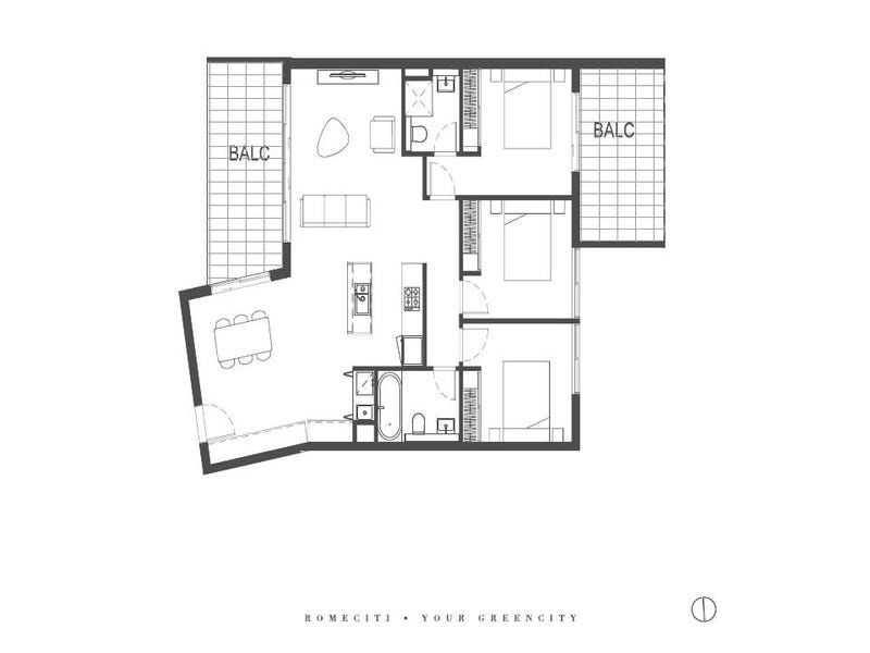 201/1 Glen Street, Eastwood, NSW 2122 - floorplan