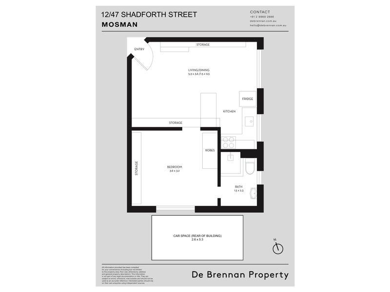 12/47 Shadforth Street, Mosman, NSW 2088 - floorplan