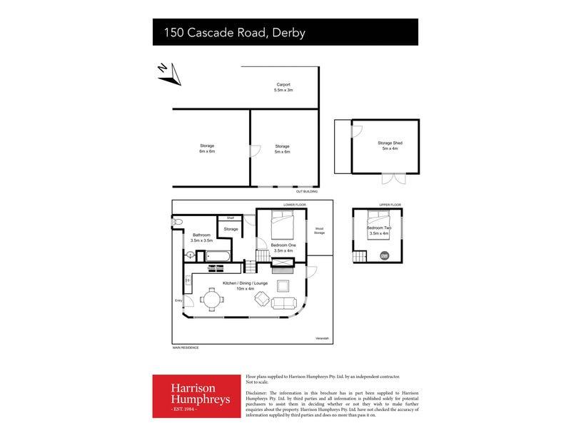 150 Cascade Dam Road, Derby, Tas 7264 - floorplan
