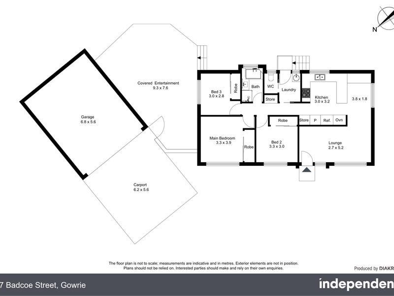 27 Badcoe Street, Gowrie, ACT 2904 - floorplan