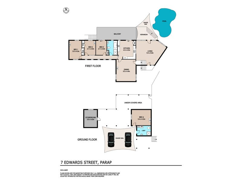 7 Edwards Street, Parap, NT 0820 - floorplan