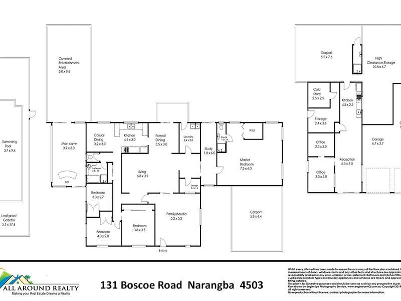 131 Boscoe Road, Narangba, Qld 4504 - floorplan
