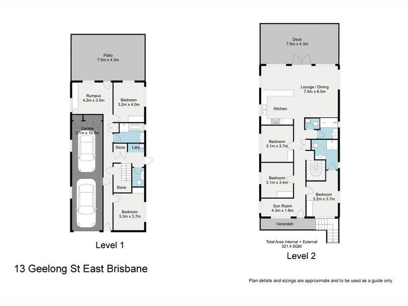 13 Geelong Street, East Brisbane, Qld 4169 - floorplan
