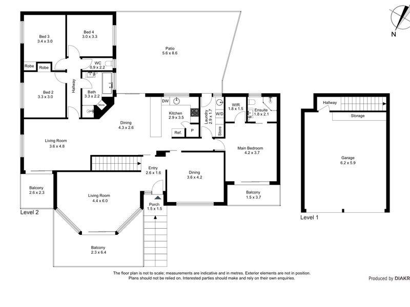 7/18 Mugglestone Place, Bruce, ACT 2617 - floorplan