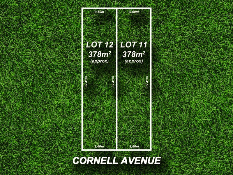 Lot 11 and 12, 16 Cornell Avenue, Valley View, SA 5093