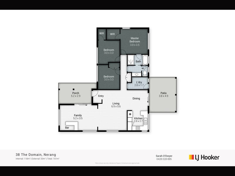 38 The Domain, Nerang, Qld 4211 - floorplan