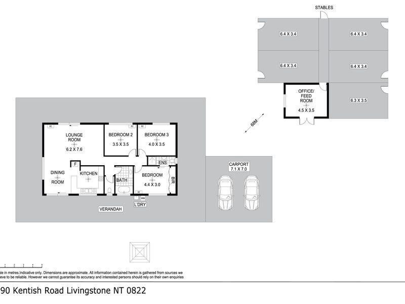 290 Kentish Road, Livingstone, NT 0822 - floorplan