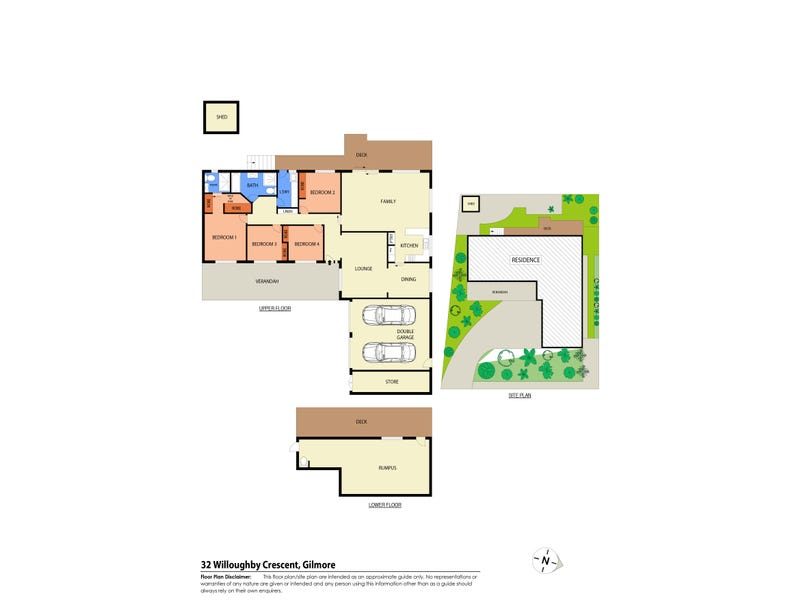 32 Willoughby Crescent, Gilmore, ACT 2905 - floorplan