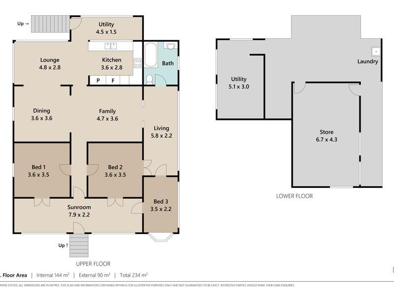 26 Eureka St, Kelvin Grove, Qld 4059 - floorplan