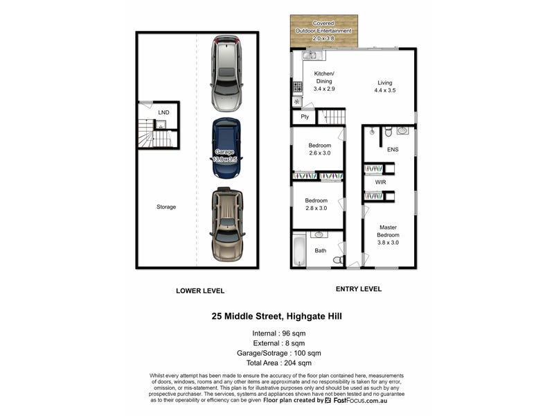 25 Middle Street, Highgate Hill, Qld 4101 - floorplan