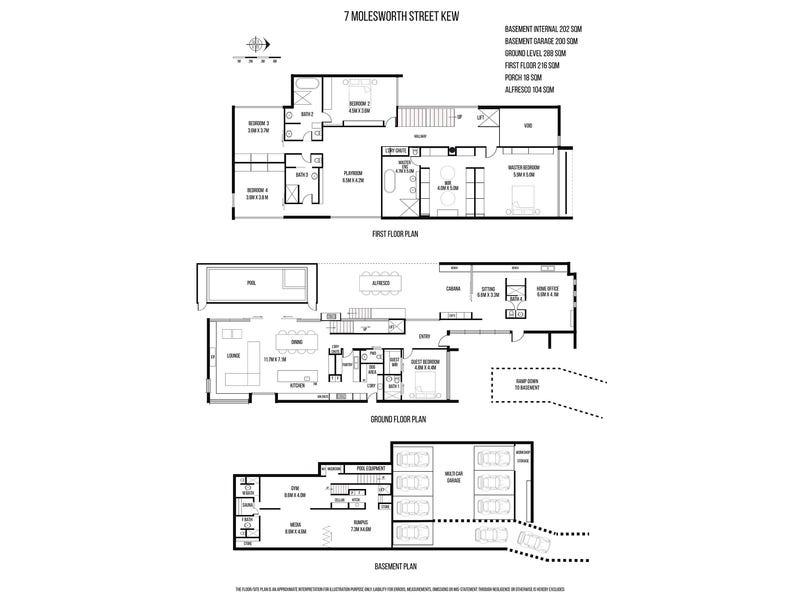 7 Molesworth Street, Kew, Vic 3101 - floorplan