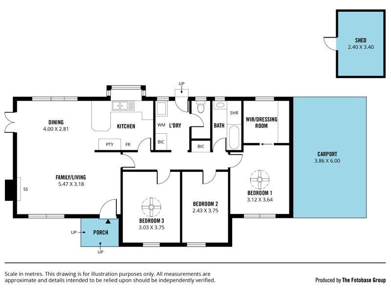 37 Sutton Avenue, Seacombe Gardens, SA 5047 - floorplan