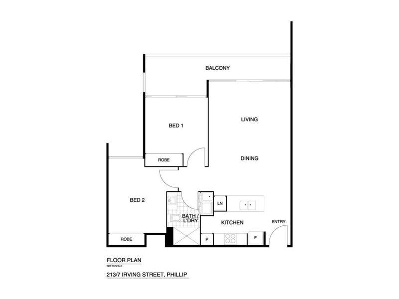 213/7 Irving Street, Phillip, ACT 2606 - floorplan