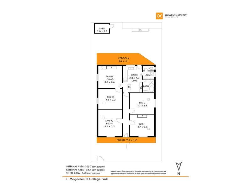 7 Magdalen Street, College Park, SA 5069 - floorplan