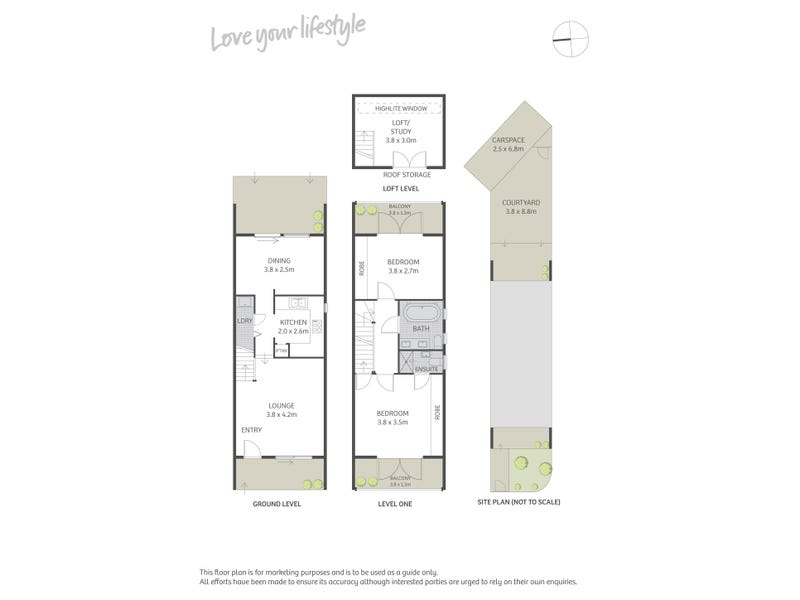 52 Rose Street, Chippendale, NSW 2008 - floorplan