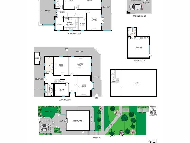 28 Lower Boyle Street, Mosman, NSW 2088 - floorplan