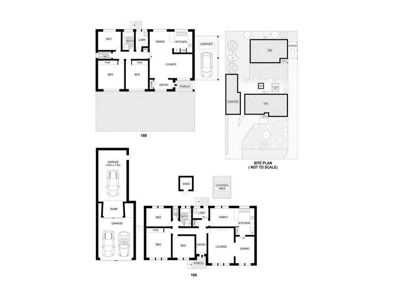 18A & 18B Carrodus Street, Fraser, ACT 2615 - floorplan