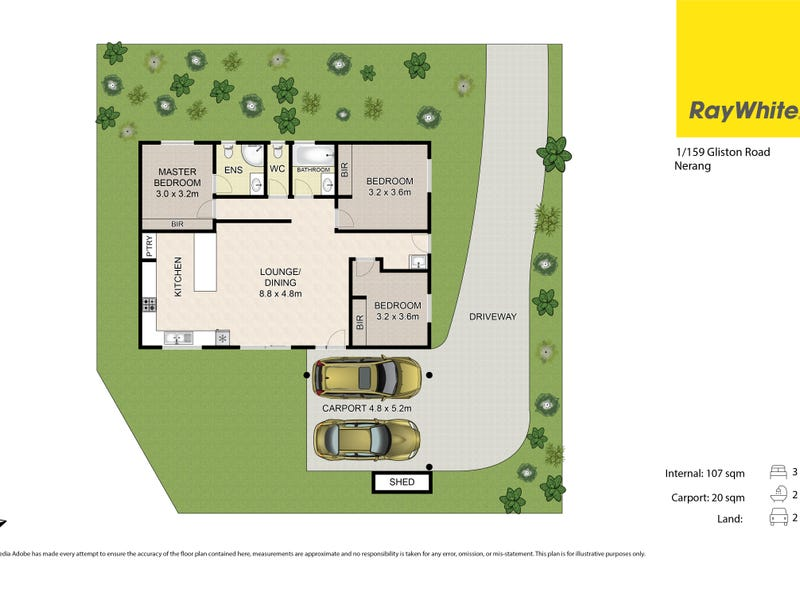 Lot 1/159 Gilston Road, Nerang, Qld 4211 - floorplan