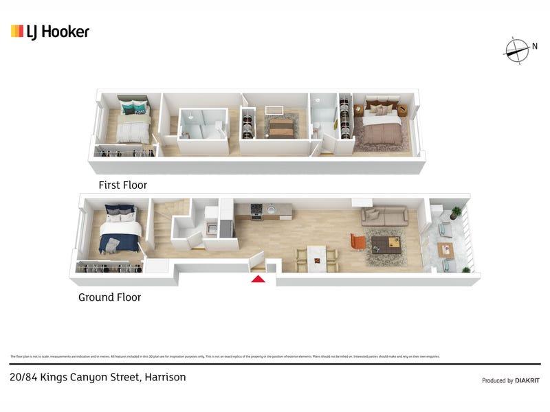 20/84 Kings Canyon Street, Harrison, ACT 2914 - floorplan