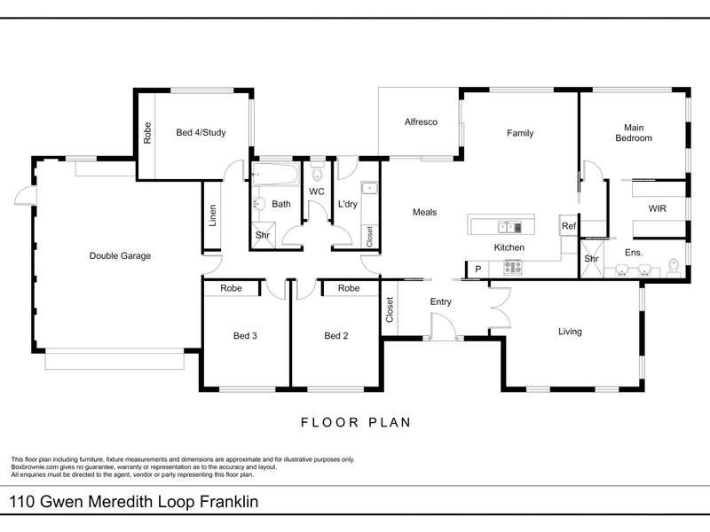 110 Gwen Meredith Loop, Franklin, ACT 2913 - floorplan