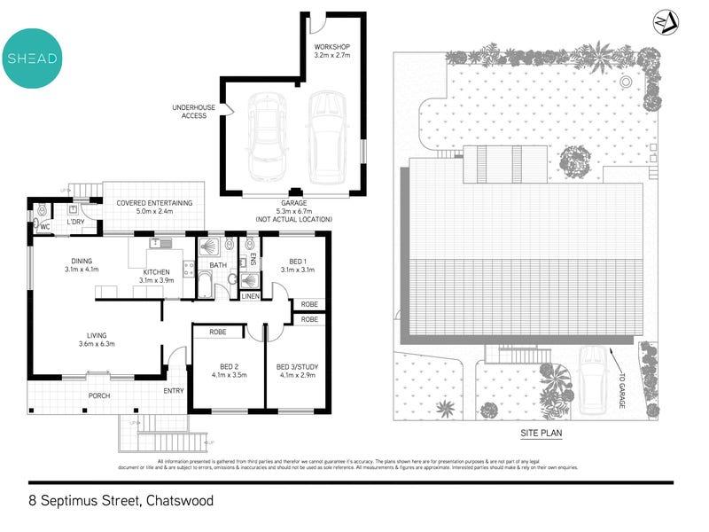 8 Septimus Street, Chatswood, NSW 2067 - floorplan