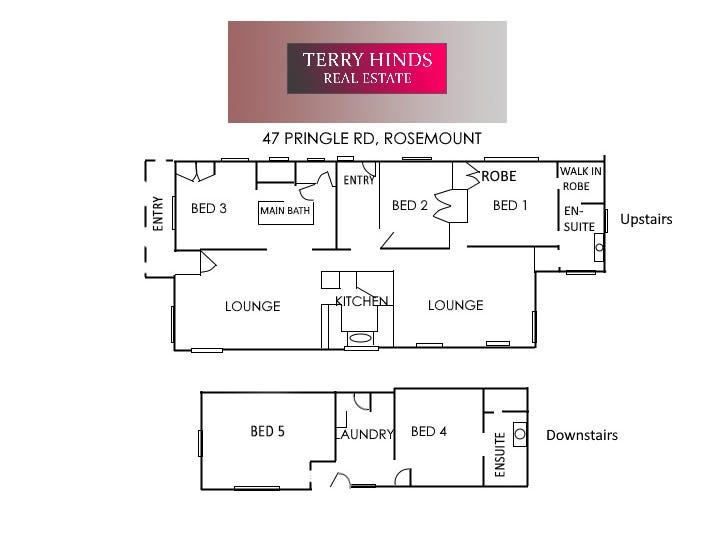 47 Pringle Road, Rosemount, Qld 4560 - floorplan