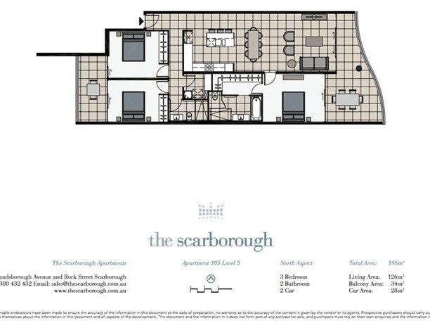 105/113 Landsborough Avenue, Scarborough, Qld 4020 - floorplan