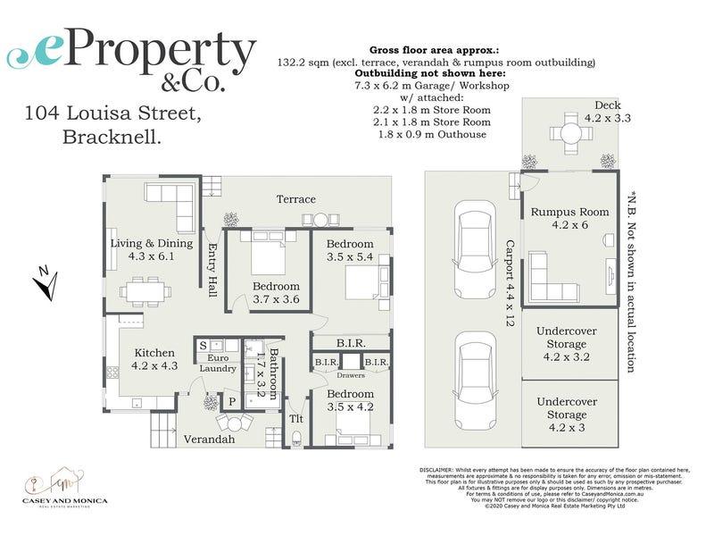 104 Louisa Street, Bracknell, Tas 7302 - floorplan
