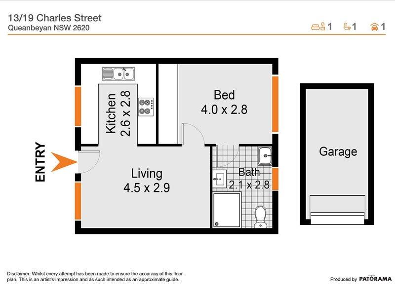 13/19 Charles Street, Queanbeyan, NSW 2620 - floorplan