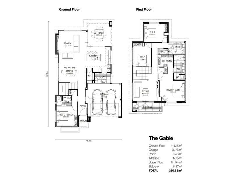 25  Cedarleaf Entrance, Treeby, WA 6164 - floorplan