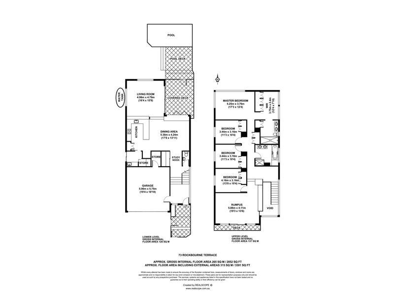 73 Rockbourne Terrace, Paddington, Qld 4064 - floorplan