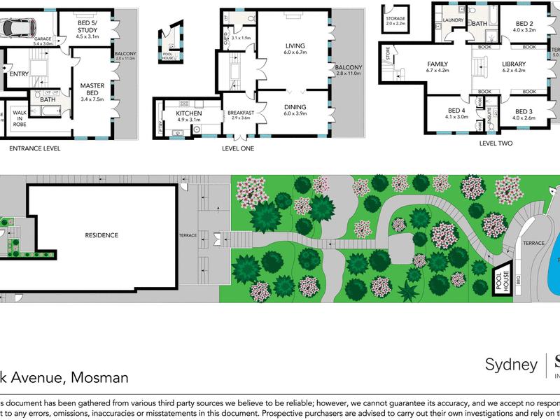 7 Shellbank Avenue, Mosman, NSW 2088 - floorplan