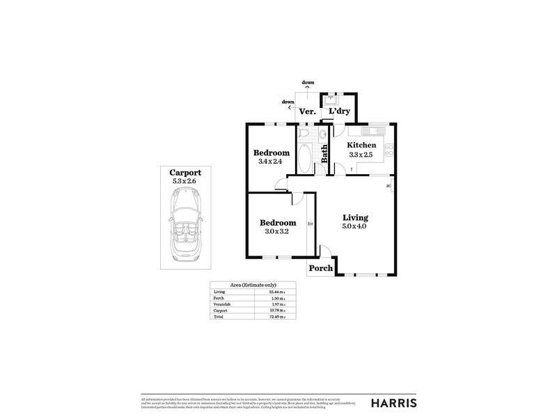 2/31 Wellington Street, Klemzig, SA 5087 - floorplan