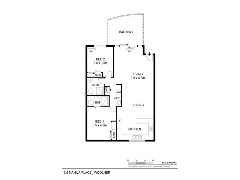 13/5 Manila Place, Woolner, NT 0820 - floorplan