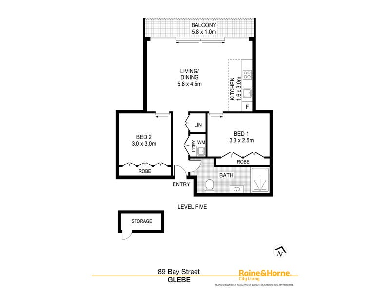 502/89 Bay Street, Glebe, NSW 2037 - floorplan