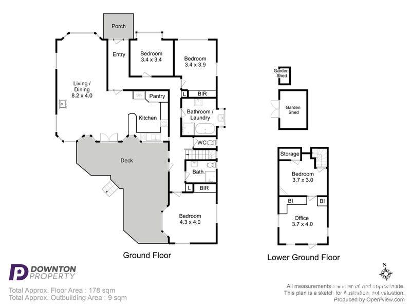 63 Hill Street, Bellerive, Tas 7018 - floorplan