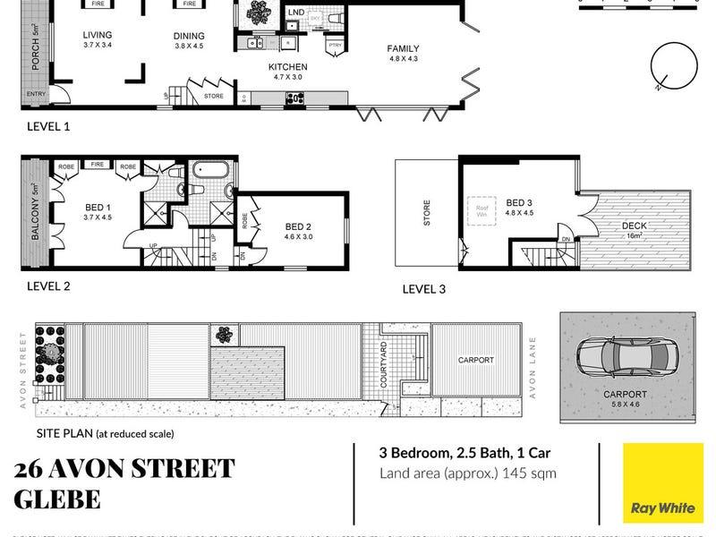 26 Avon Street, Glebe, NSW 2037 - floorplan