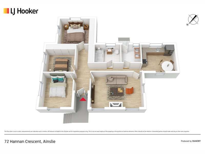 72 Hannan Crescent, Ainslie, ACT 2602 - floorplan