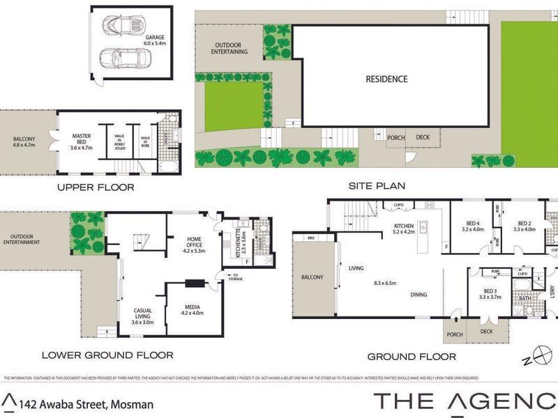142 Awaba Street, Mosman, NSW 2088 - floorplan