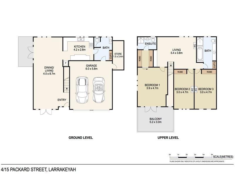 4/15 Packard Street, Larrakeyah, NT 0820 - floorplan