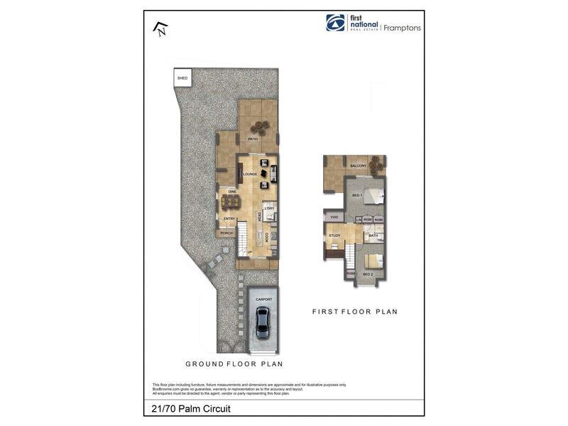 21/70 Palm Circuit, Ross, NT 0873 - floorplan