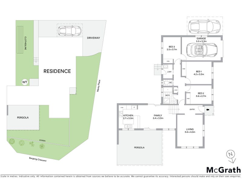 1 Maray Place, Ngunnawal, ACT 2913 - floorplan