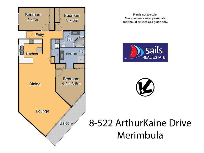 8/522 Artur Kaine Drive, Merimbula, NSW 2548 - floorplan