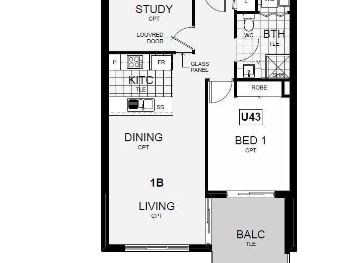 43/4 Thadoona Street, Crace, ACT 2911 - floorplan