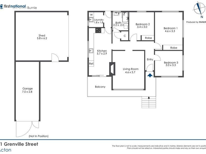 41 Grenville Street, Acton, Tas 7320 - floorplan
