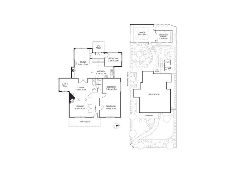 102 Ivanhoe Parade, Ivanhoe, Vic 3079 - floorplan