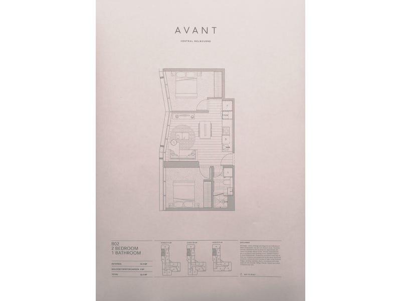 1207/54-56 A'Beckett street, Melbourne, Vic 3000 - floorplan