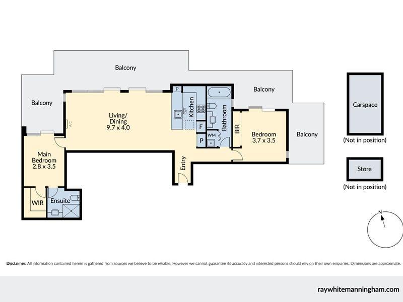 201/55-59 Earl Street, Kew, Vic 3101 - floorplan